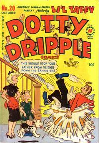 Cover Thumbnail for Dotty Dripple (Harvey, 1946 series) #20