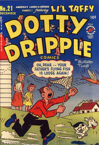 Cover Thumbnail for Dotty Dripple (Harvey, 1948 series) #21
