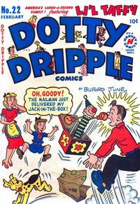 Cover for Dotty Dripple (Harvey, 1946 series) #22