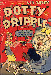 Cover Thumbnail for Dotty Dripple (Harvey, 1948 series) #23