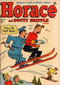 Cover Thumbnail for Horace & Dotty Dripple (Harvey, 1952 series) #28