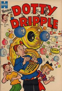 Cover Thumbnail for Horace & Dotty Dripple (Harvey, 1952 series) #35