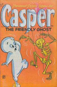 Cover Thumbnail for Casper the Friendly Ghost (Harvey, 1952 series) #7