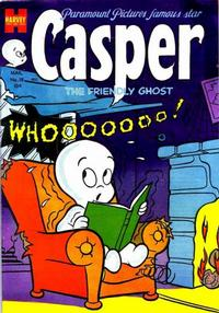 Cover Thumbnail for Casper the Friendly Ghost (Harvey, 1952 series) #18