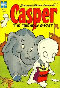 Cover Thumbnail for Casper the Friendly Ghost (Harvey, 1952 series) #23