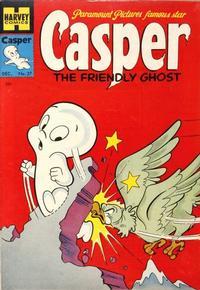 Cover Thumbnail for Casper the Friendly Ghost (Harvey, 1952 series) #27