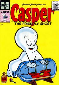 Cover Thumbnail for Casper the Friendly Ghost (Harvey, 1952 series) #35