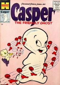 Cover Thumbnail for Casper the Friendly Ghost (Harvey, 1952 series) #36
