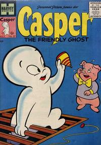 Cover Thumbnail for Casper the Friendly Ghost (Harvey, 1952 series) #37