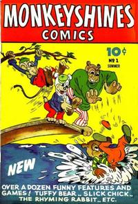 Cover Thumbnail for Monkeyshines Comics (Ace Magazines, 1944 series) #1