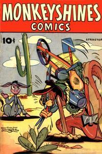 Cover Thumbnail for Monkeyshines Comics (Ace Magazines, 1944 series) #4