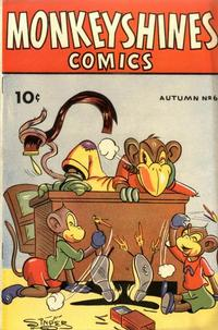 Cover Thumbnail for Monkeyshines Comics (Ace Magazines, 1944 series) #6
