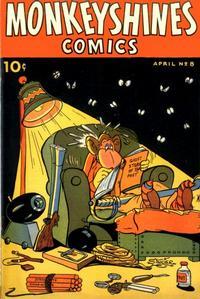 Cover Thumbnail for Monkeyshines Comics (Ace Magazines, 1944 series) #8