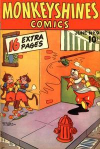 Cover Thumbnail for Monkeyshines Comics (Ace Magazines, 1944 series) #9