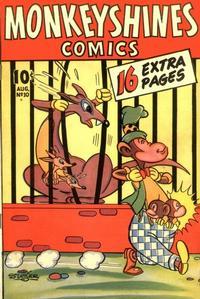 Cover Thumbnail for Monkeyshines Comics (Ace Magazines, 1944 series) #10