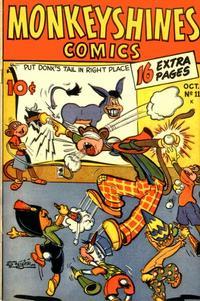 Cover Thumbnail for Monkeyshines Comics (Ace Magazines, 1944 series) #11