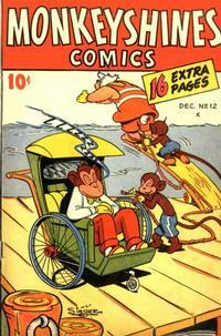 Cover Thumbnail for Monkeyshines Comics (Ace Magazines, 1944 series) #12