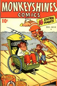 Cover Thumbnail for Monkeyshines Comics (Ace Magazines, 1944 series) #12