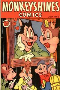 Cover Thumbnail for Monkeyshines Comics (Ace Magazines, 1944 series) #15