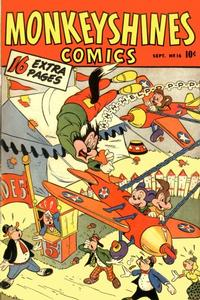 Cover Thumbnail for Monkeyshines Comics (Ace Magazines, 1944 series) #16