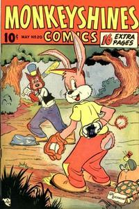 Cover Thumbnail for Monkeyshines Comics (Ace Magazines, 1944 series) #20