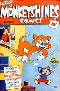 Cover Thumbnail for Monkeyshines Comics (Ace Magazines, 1944 series) #24