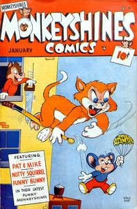 Cover Thumbnail for Monkeyshines Comics (Ace Magazines, 1944 series) #24