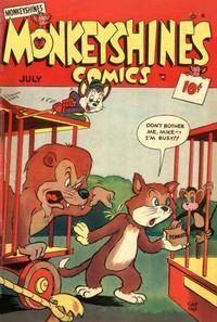 Cover Thumbnail for Monkeyshines Comics (Ace Magazines, 1944 series) #27