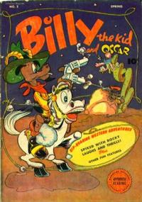 Cover Thumbnail for Billy the Kid (Fawcett, 1945 series) #2