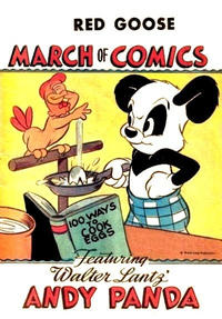 Cover Thumbnail for Boys' and Girls' March of Comics (Western, 1946 series) #5 [Red Goose variant]
