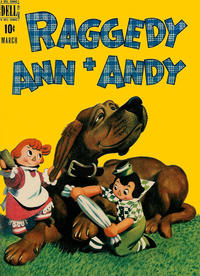 Cover Thumbnail for Raggedy Ann and Andy (Dell, 1946 series) #22