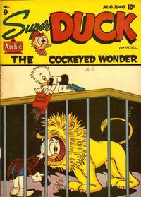 Cover Thumbnail for Super Duck Comics (Archie, 1944 series) #9