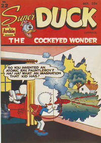 Cover Thumbnail for Super Duck Comics (Archie, 1944 series) #22