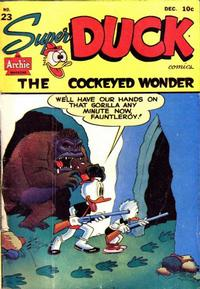 Cover Thumbnail for Super Duck Comics (Archie, 1944 series) #23