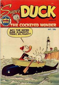 Cover Thumbnail for Super Duck Comics (Archie, 1944 series) #28