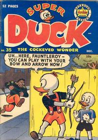 Cover Thumbnail for Super Duck Comics (Archie, 1944 series) #35