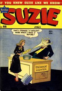 Cover Thumbnail for Suzie Comics (Archie, 1945 series) #66