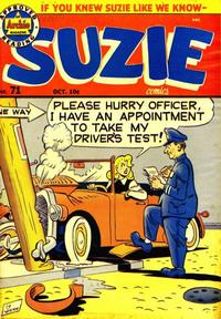 Cover Thumbnail for Suzie Comics (Archie, 1945 series) #71