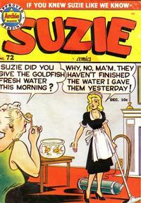 Cover Thumbnail for Suzie Comics (Archie, 1945 series) #72
