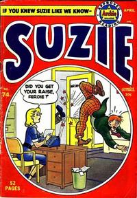 Cover Thumbnail for Suzie Comics (Archie, 1945 series) #74