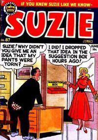 Cover Thumbnail for Suzie Comics (Archie, 1945 series) #87