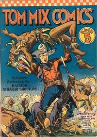 Cover for Tom Mix Comics (Ralston-Purina Company, 1940 series) #5