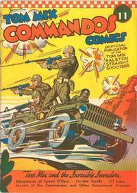 Cover Thumbnail for Tom Mix Commandos Comics (Ralston-Purina Company, 1942 series) #11