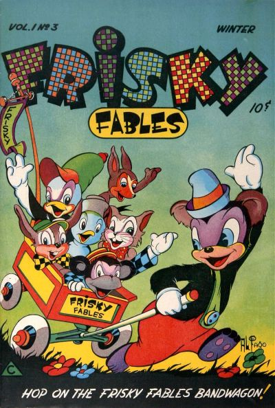 Cover for Frisky Fables (Novelty / Premium / Curtis, 1945 series) #v1#3 [3]