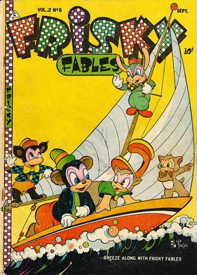 Cover for Frisky Fables (Novelty / Premium / Curtis, 1945 series) #v2#6 [9]
