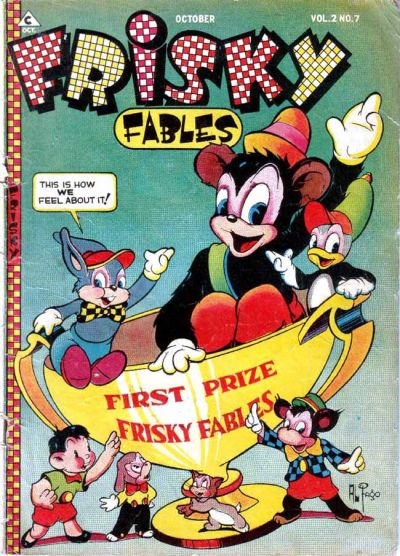 Cover for Frisky Fables (Novelty / Premium / Curtis, 1945 series) #v2#7 [10]