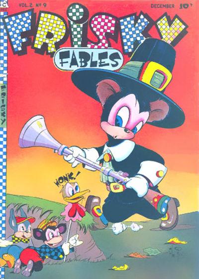 Cover for Frisky Fables (Novelty / Premium / Curtis, 1945 series) #v2#9 [12]