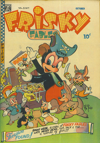 Cover for Frisky Fables (Novelty / Premium / Curtis, 1945 series) #v3#7 [22]