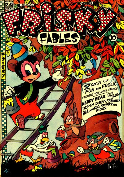 Cover for Frisky Fables (Novelty / Premium / Curtis, 1945 series) #v3#8 [23]