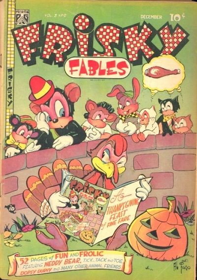 Cover for Frisky Fables (Novelty / Premium / Curtis, 1945 series) #v3#9 [24]